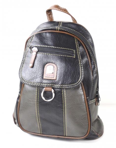 braunton damen leder rucksack tasche city bag mit 2 varianten tragbar ebay. Black Bedroom Furniture Sets. Home Design Ideas